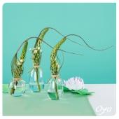 """Laissez-vous porter au cœur d'un voyage au fil de l'eau avec ce trio de compositions """"mouvements de surface"""". Qui a envie d'un peu d'évasion végétale ? . . . #voyage #evasion #fleurs #flowerpower #flowerstagram#instafleurs #floweroftheday #oya #oyafleurs"""
