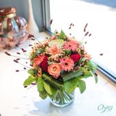 Laissez-vous transporter par la beauté des fonds marins. Plongez au cœur du récif et laissez-vous émerveiller par notre bouquet rond corail fleuri. . . . #bouquetrond #corail#flowers #florist #flowerstagram #flowershop #floweroftheday #collectionflorale #oya #oyafleurs
