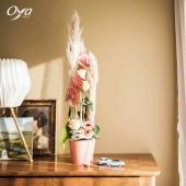 """La très tendance fleur de pampa est au cœur de la composition """" Rappelle-toi """", vous aimez ? . . . #pampa #compositionflorale#savoirfaire #artfloral #collectionflorale #floweroftheday #flowerstagram #florist #oya #oyafleurs"""