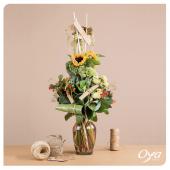 Un dégradé de papier et de végétaux, créez une décoration étonnante avec notre bouquet d'ambiance. . . . #papier #florist #flowerstagram #instafleurs #flowerpower #artfloral #oya #oyafleurs